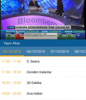 BloombergHT Live Ekran Görüntüleri - 1