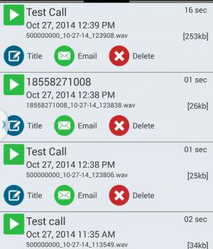 Call Recorder - IntCall Ekran Görüntüleri - 3