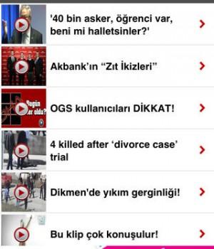 Doğan Haber Ajansı Ekran Görüntüleri - 2