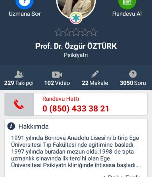Doktorsitesi Ekran Görüntüleri - 2
