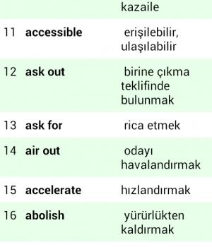 İngilizce Kelime Öğreniyorum Ekran Görüntüleri - 4