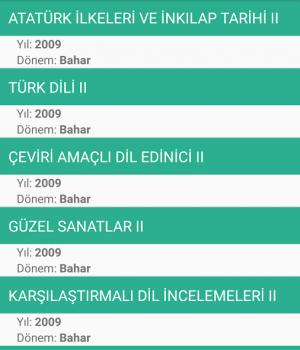 İstanbul Üniversitesi Ekran Görüntüleri - 3