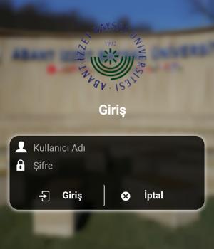 İzzet Baysal Üniversitesi Ekran Görüntüleri - 2