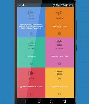 SDÜ Mobil Ekran Görüntüleri - 4