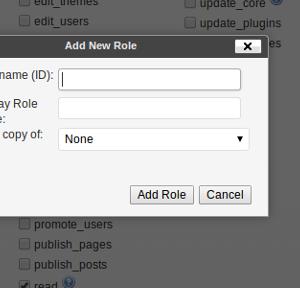 User Role Editor Ekran Görüntüleri - 1
