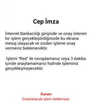 VakıfBank Mobil Bankacılık Ekran Görüntüleri - 3