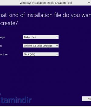 Windows 8.1 Yükleme Medyası Oluşturma Aracı Ekran Görüntüleri - 3