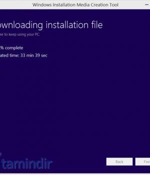 Windows 8.1 Yükleme Medyası Oluşturma Aracı Ekran Görüntüleri - 1