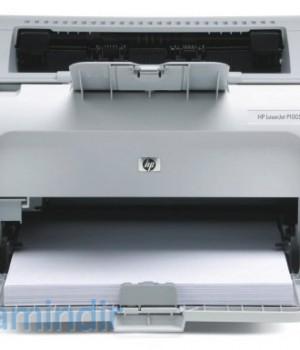 HP Laserjet P1005 Driver Ekran Görüntüleri - 1