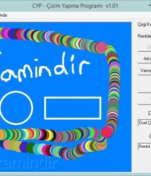 -CYP - Çizim Yapma Programı Ekran Görüntüleri - 2