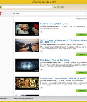 123 Convert YouTube To MP3 Ekran Görüntüleri - 3