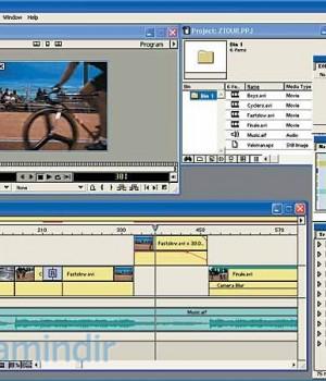 Adobe Premiere 6.0 Ekran Görüntüleri - 2