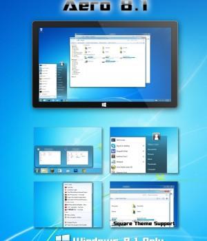 Aero 8.1 Theme Ekran Görüntüleri - 1