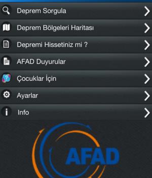 AFAD Deprem Ekran Görüntüleri - 5