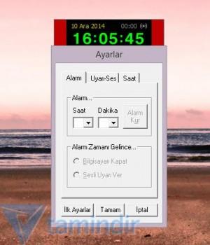 Alarmlı Sayısal Saat Ekran Görüntüleri - 2