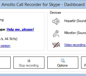 Amolto Call Recorder for Skype Ekran Görüntüleri - 2