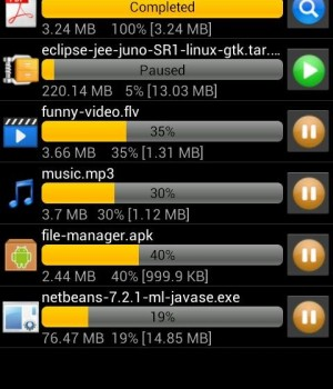 Android Download Manager Ekran Görüntüleri - 3