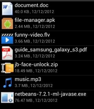 Android Download Manager Ekran Görüntüleri - 1