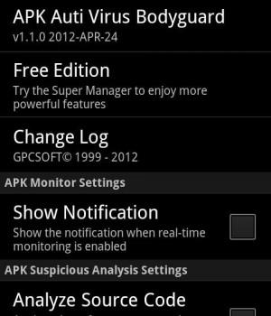 APK Anti-Virus Bodyguard Ekran Görüntüleri - 4