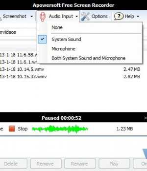 Apowersoft Free Screen Recorder Ekran Görüntüleri - 1