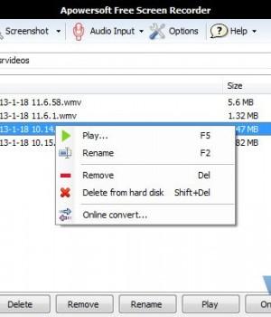 Apowersoft Free Screen Recorder Ekran Görüntüleri - 4