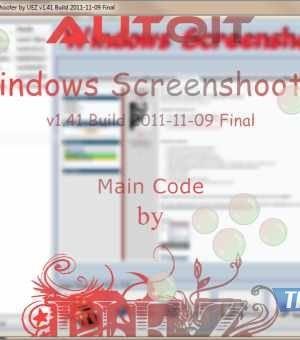 AutoIt Windows Screenshooter Ekran Görüntüleri - 2