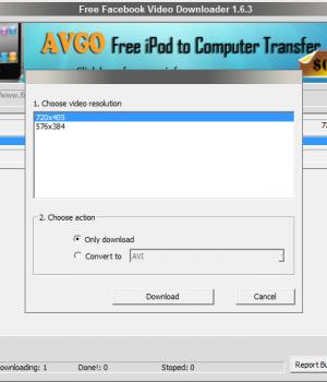 AVGO Free Facebook Video Downloader Ekran Görüntüleri - 2