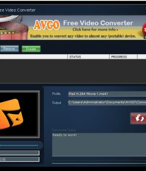AVGO Free Video Converter Ekran Görüntüleri - 2