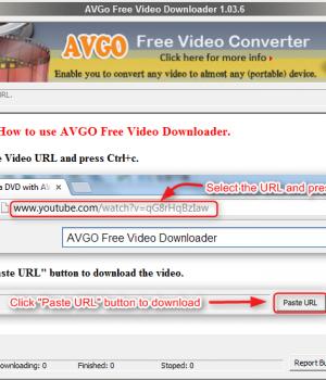 AVGo Free Video Downloader Ekran Görüntüleri - 2