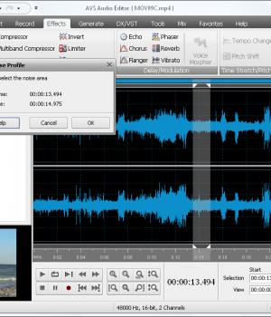 AVS Audio Editor Ekran Görüntüleri - 2
