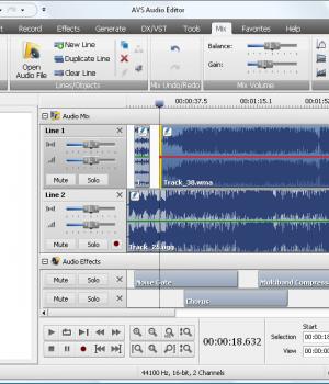 AVS Audio Editor Ekran Görüntüleri - 1