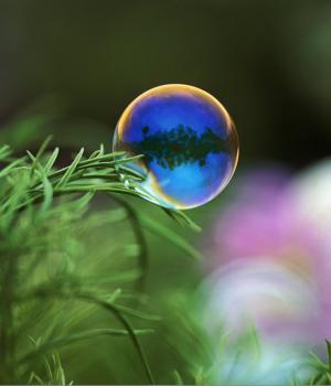 Baloncuklar Teması Ekran Görüntüleri - 1