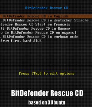 BitDefender Rescue CD Ekran Görüntüleri - 2