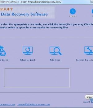 Bplan Data Recovery Software Ekran Görüntüleri - 1