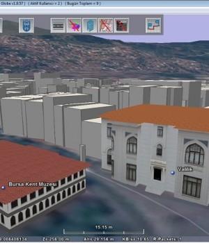 Bursa 3 Boyutlu Kent Rehberi Ekran Görüntüleri - 5