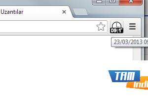 Clock Icon for Chrome Ekran Görüntüleri - 1