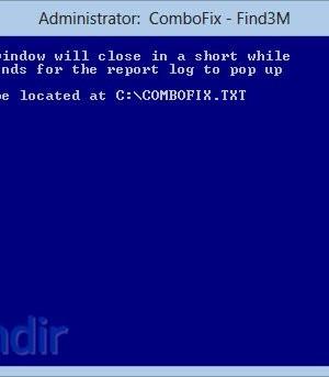 ComboFix Ekran Görüntüleri - 1