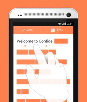 Confide Ekran Görüntüleri - 1