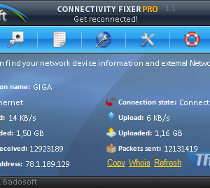 Connectivity Fixer Ekran Görüntüleri - 1