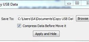 Copy USB Data Ekran Görüntüleri - 1