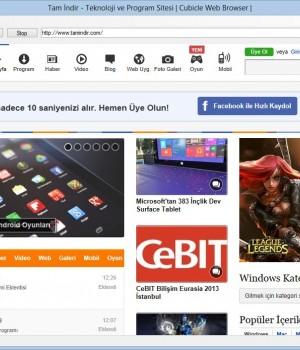 Cubicle Web Browser Ekran Görüntüleri - 4