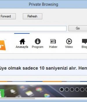 Cubicle Web Browser Ekran Görüntüleri - 1
