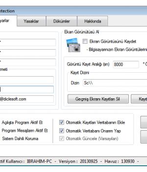 Diclesoft Web Protection Ekran Görüntüleri - 2