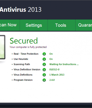 Diyusof Antivirus Ekran Görüntüleri - 1