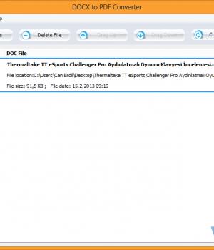 DOCX to PDF Converter Ekran Görüntüleri - 1
