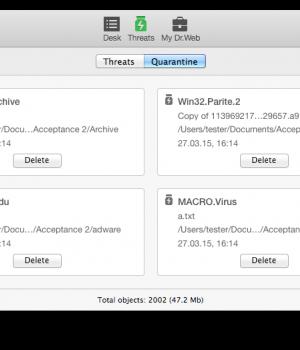 Dr. Web Antivirus Ekran Görüntüleri - 1