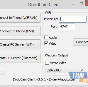 DroidCam Ekran Görüntüleri - 1