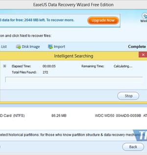 EASEUS Data Recovery Wizard Free Edition Ekran Görüntüleri - 2