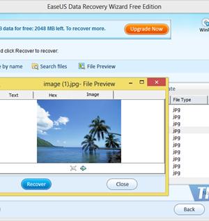 EASEUS Data Recovery Wizard Free Edition Ekran Görüntüleri - 1
