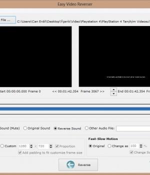 Easy Video Reverser Ekran Görüntüleri - 2